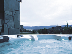 Soak away the day in our wonderfully soothing hot tub