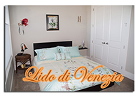Lido di Venezia's decor will transport you to wonderful Venice!